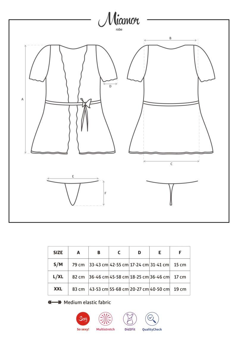 Miamor hommikumantel