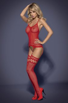 Bodystocking F214 (red)