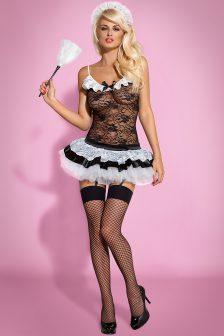 Housemaid 5-osaline kostüüm