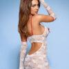 Medica dress 5-pcs costume