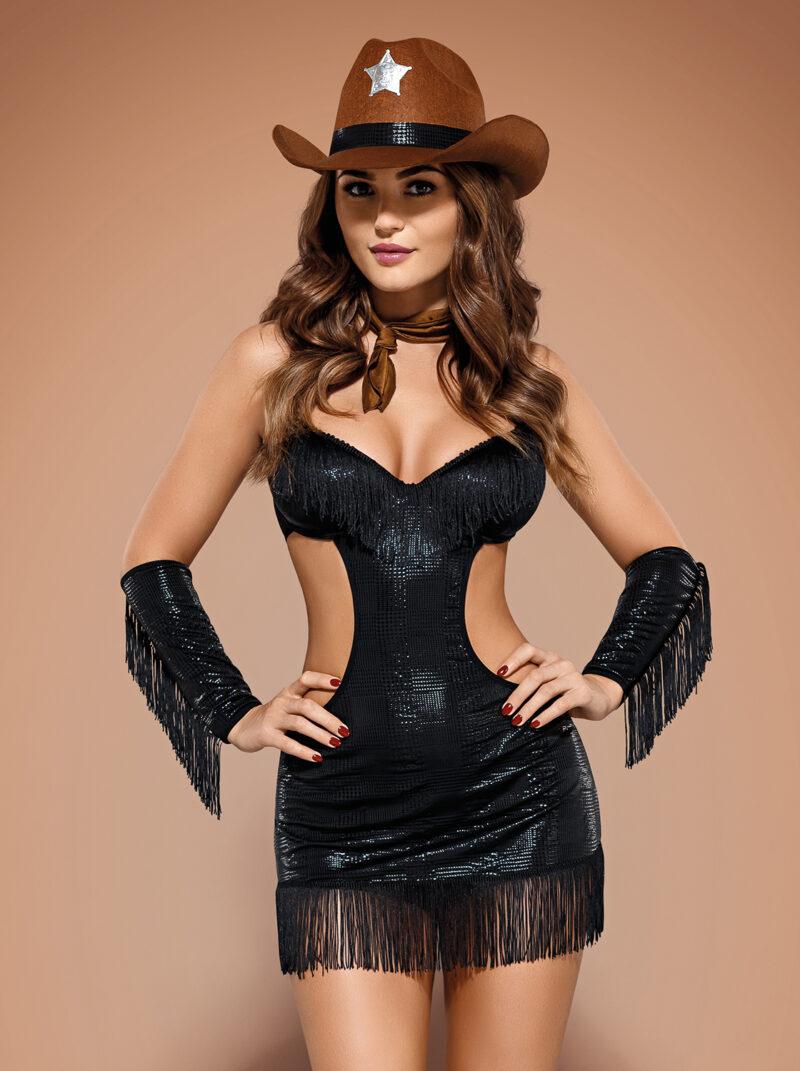 Sheriffia 5-osaline kostüüm