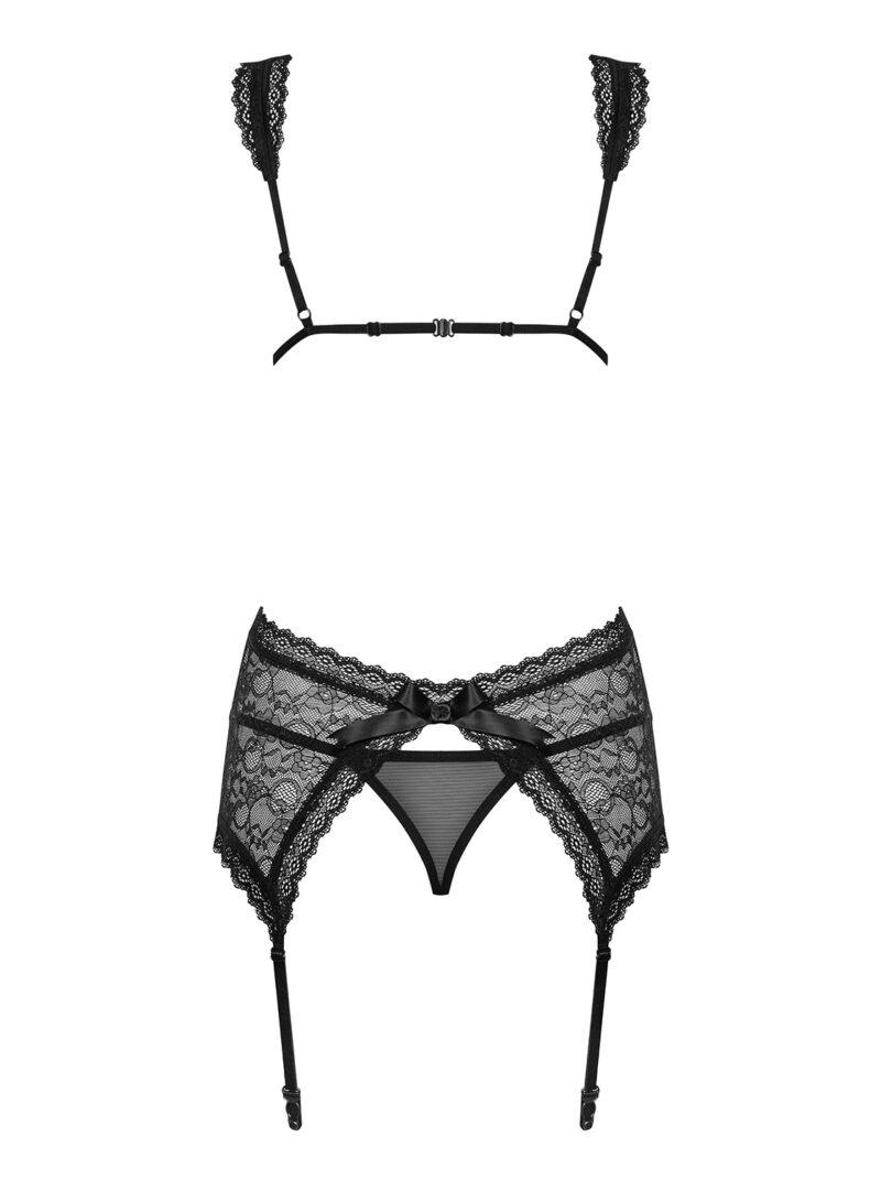 Swanita korsett (must)