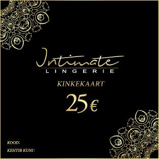 Kinkekaart 25 eur