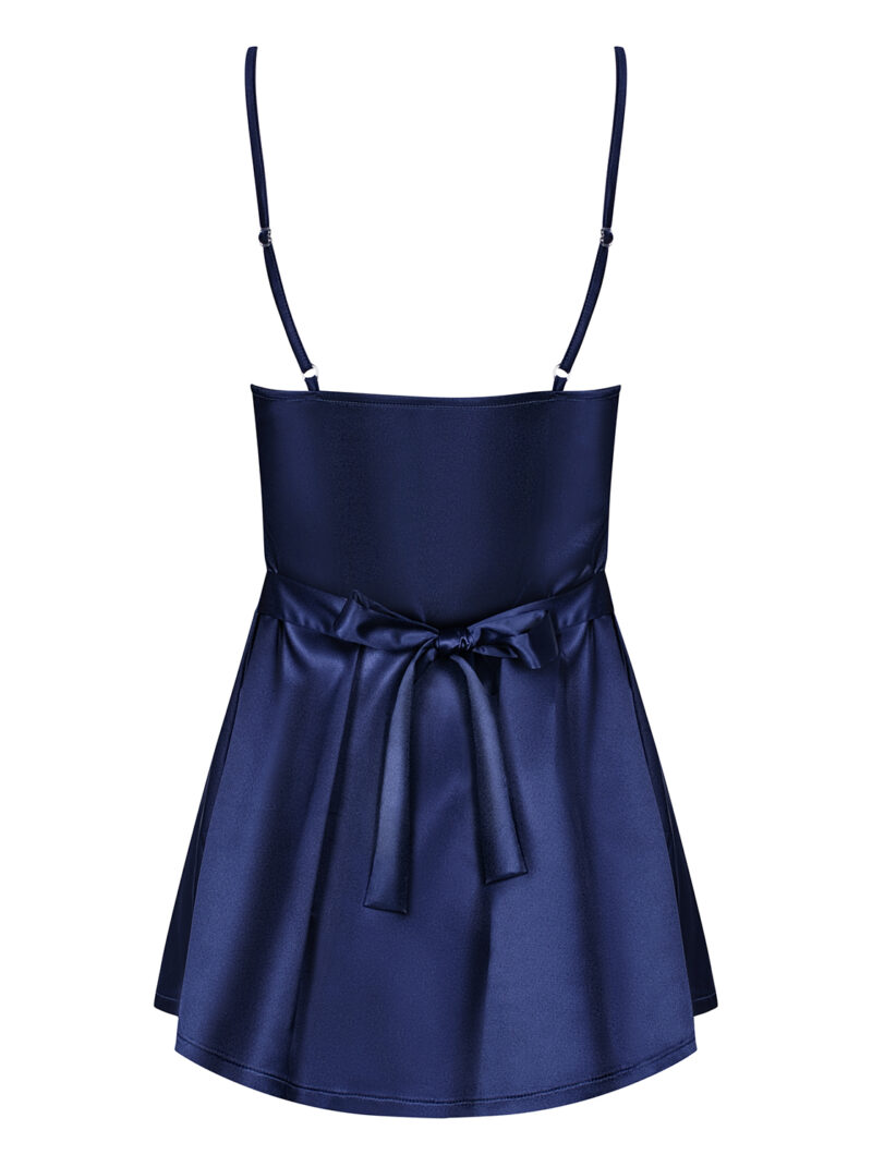 Satinia babydoll (sinine)