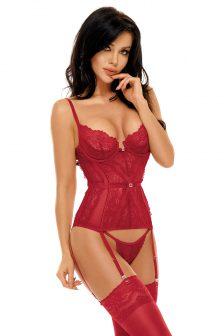 Ravenna corset cherry
